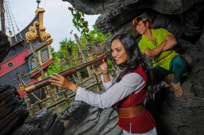 Valérie Bègue et Peter Pan