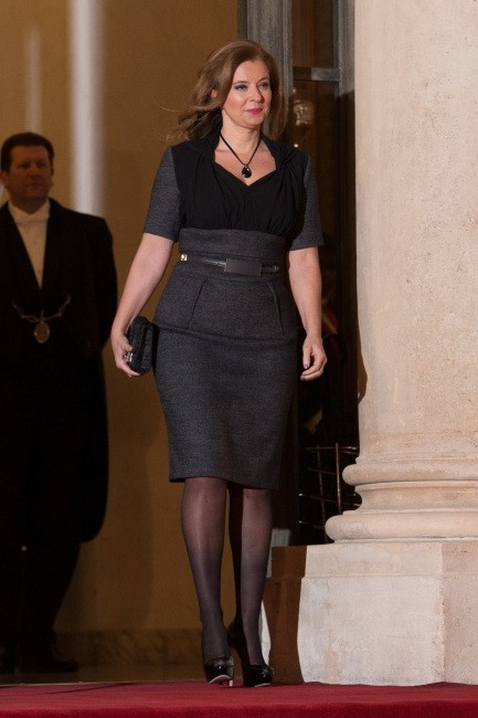 Valérie Trierweiler le 12 décembre 2012