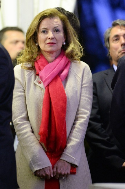 Valérie Trierweiler le 26 avril 2013