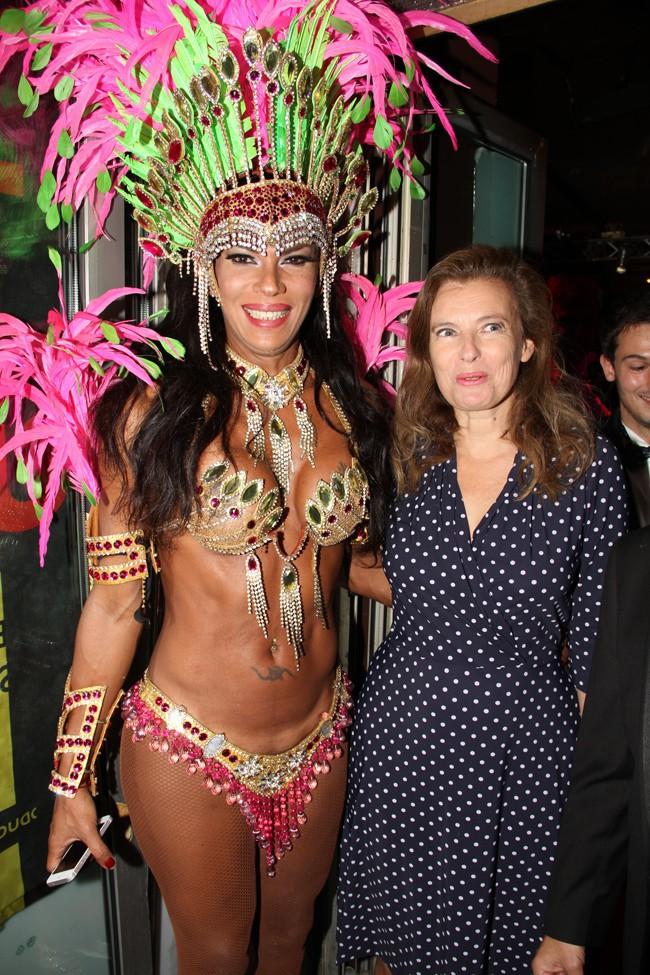 Valérie Trierweiler au Banana Café le 28 septembre 2014