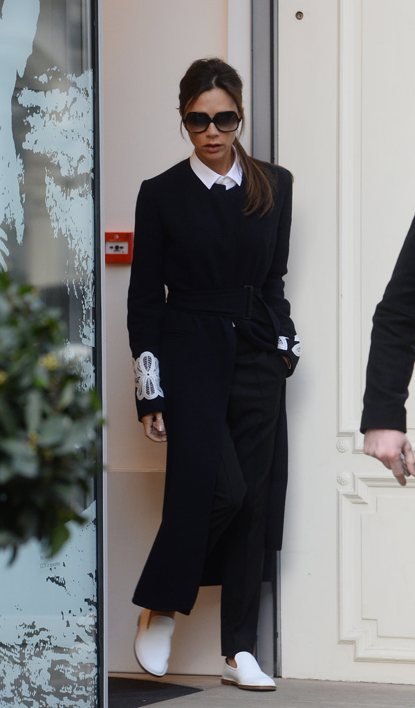 Victoria Beckham est revenue à Londres après la Fashion Week de New York