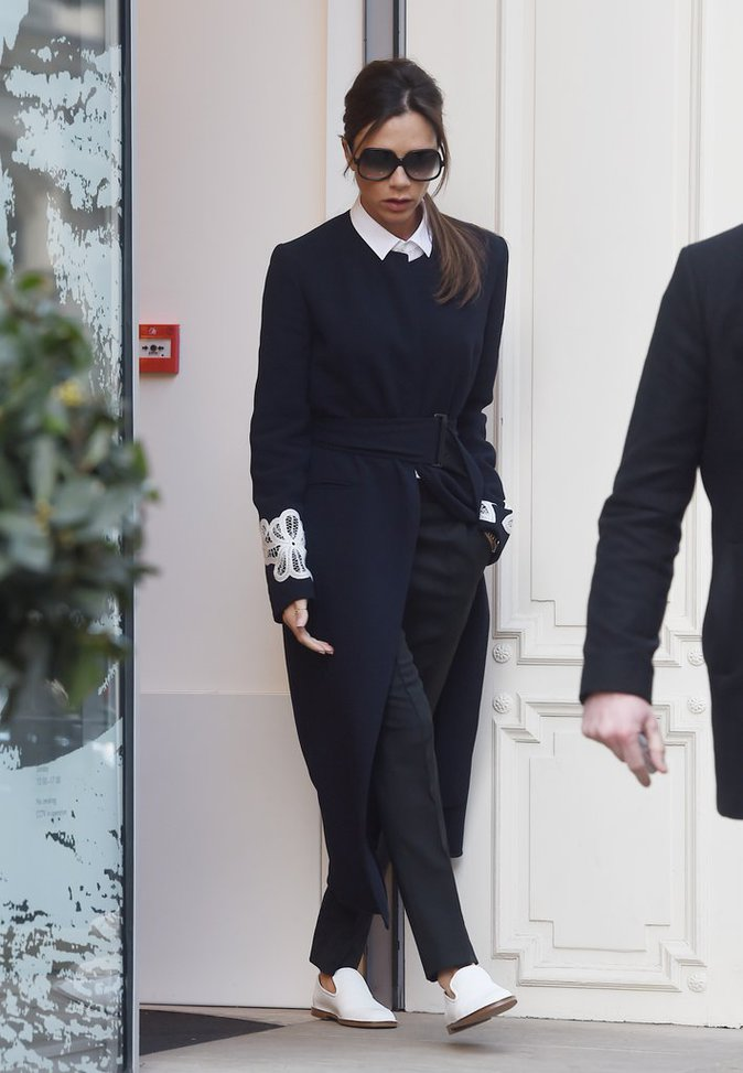 Victoria Beckham, toujours stylée