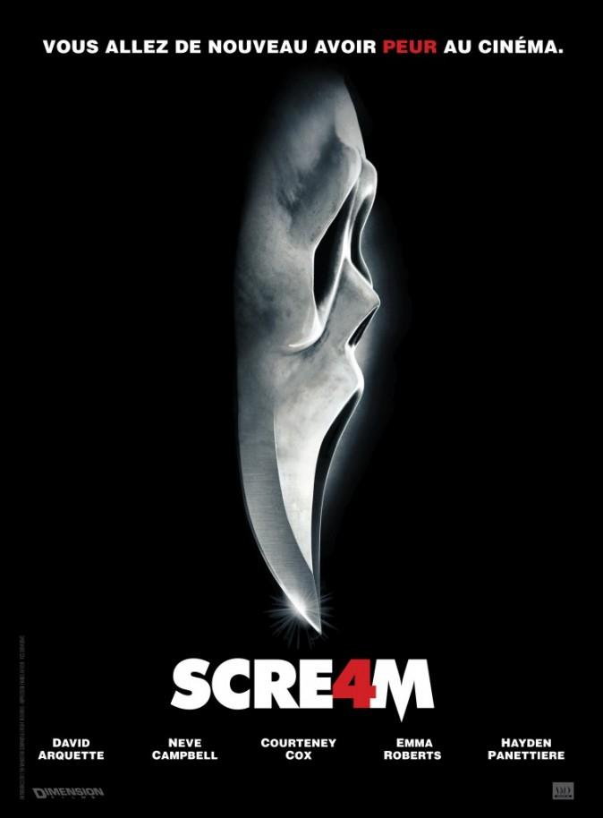 Scream 4 avec Emma Roberts, Courteney Cox et Neve Campbell