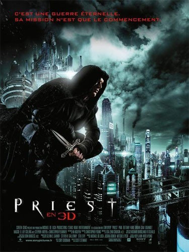 Priest 3D : un film d'action et de vampires !