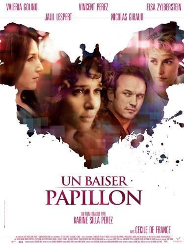 """""""Un baiser papillon"""", mélo choral avec Cécile de France, Elsa Zylberstein et Vincent Pérez."""