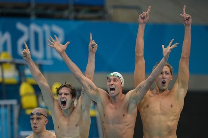 L'équipe française, heureuse d'avoir gagné la finale !