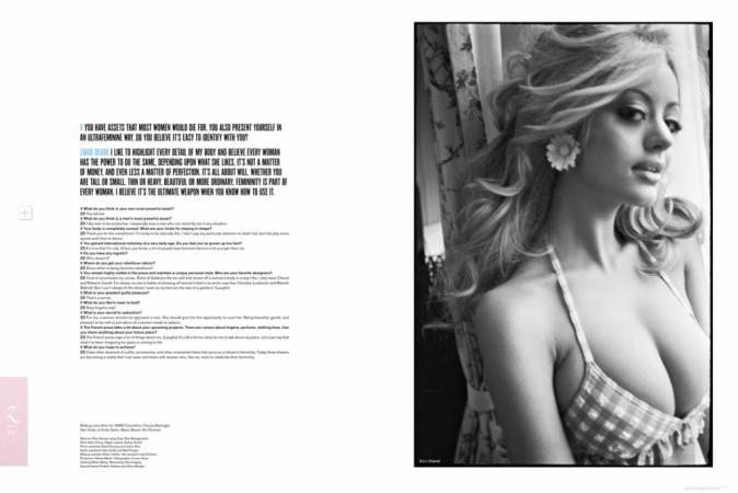 Brigitte Bardot appréciera-t-elle ce vibrant hommage de Zahia ?