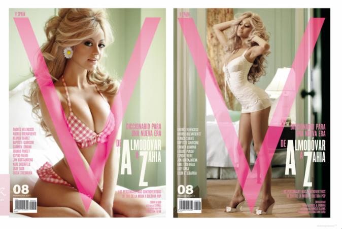 La fameuse couv et la dernière page du magazine