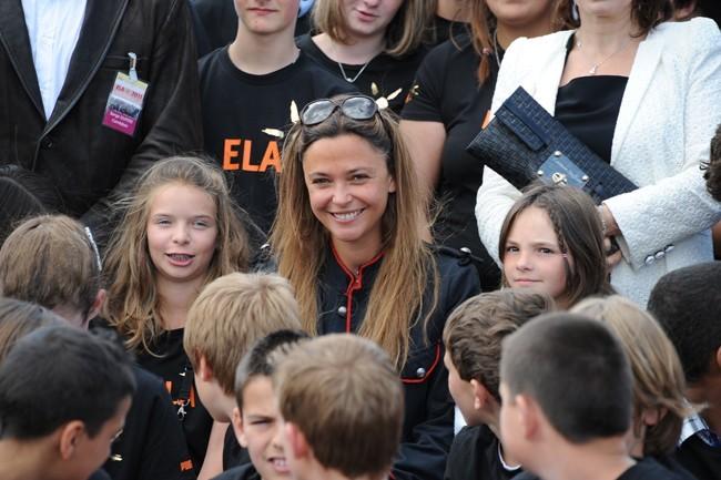 Sandrine Quetier répond toujours oui quand il s'agit de soutenir ELA !