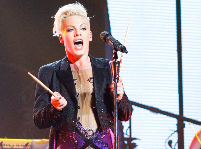 Pink : élue femme de l'année par Billboard !