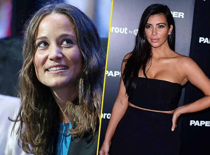 Pippa Middleton : elle tacle Kim Kardashian, une histoire de fesses !