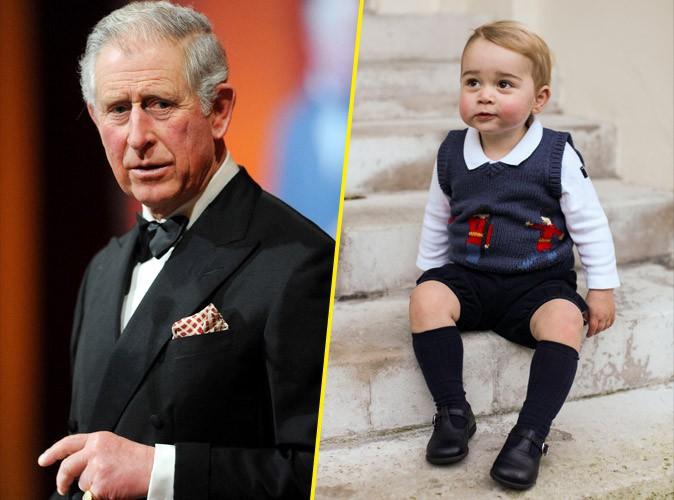 Prince Charles : on ne le laisse pas voir son petit-fils, le royal baby George !
