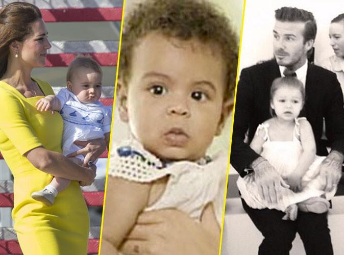 Prince George, Blue Ivy, Harper Beckham : qui est le bébé people le plus influent de la planète ?