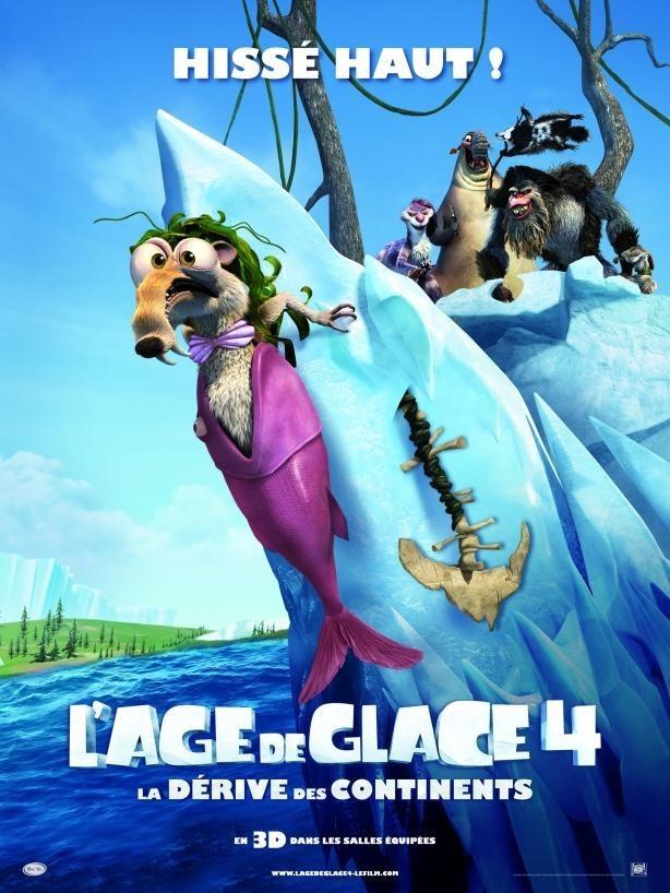 L'Age de Glace : La Dérive des Continents 9ème film le plus piraté de 2012