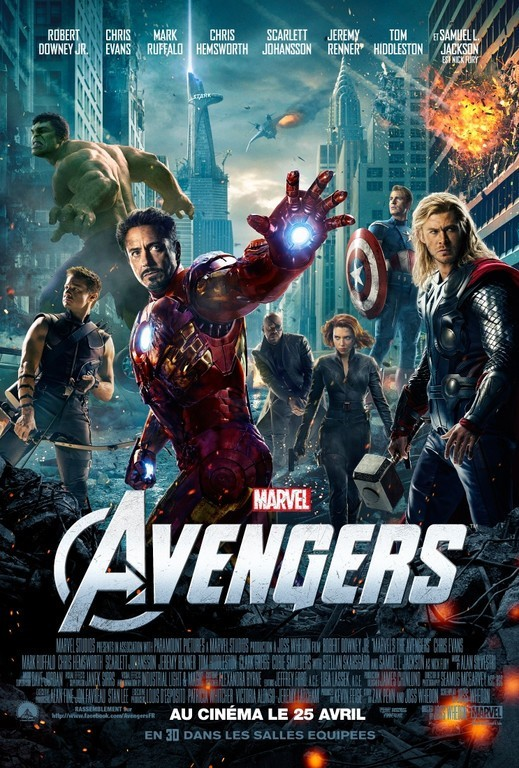The Avengers, 4ème film le plus piraté de 2012