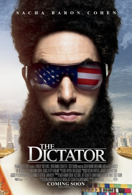 The Dictator 8ème film le plus piraté de 2012