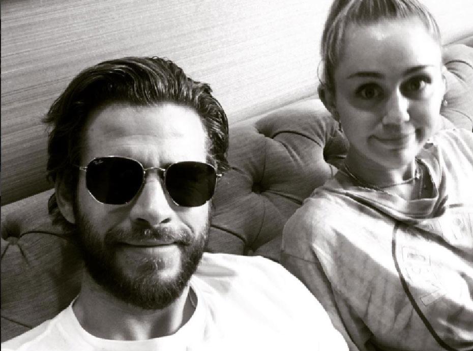Quand Liam Hemsworth est en tournage avec des femmes, Miley Cyrus a ses