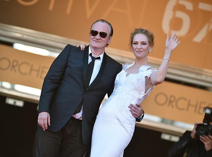 Quentin Tarantino : du rapprochement dans l'air avec Uma Thurman ?