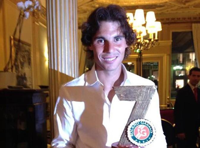 Rafael Nadal : un énorme gâteau pour sa 7ème victoire à Roland Garros !