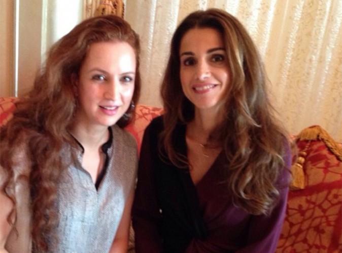Rania de Jordanie : radieuse et complice avec la sublime Lalla Salma du Maroc !