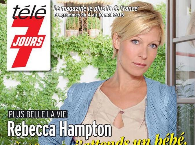 Rebecca Hampton (Plus Belle La Vie) : enceinte de son premier enfant à 40 ans !