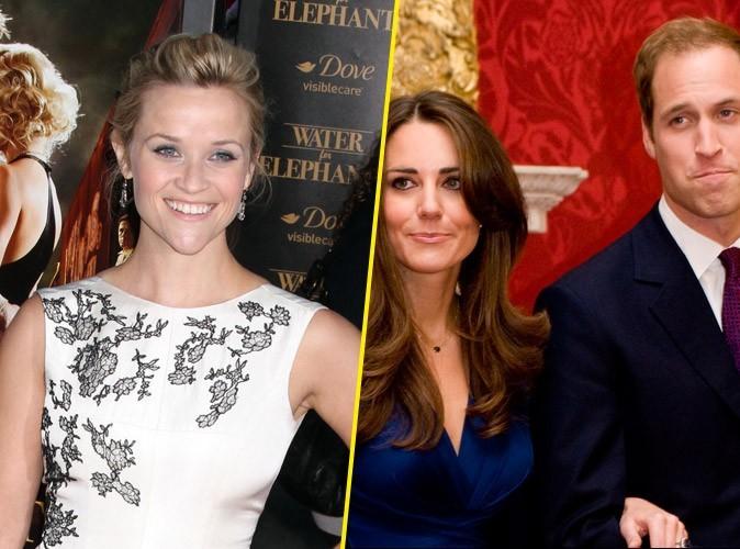 Reese Witherspoon : Le Prince William et Kate Middleton ont décliné l'invitation à son mariage !