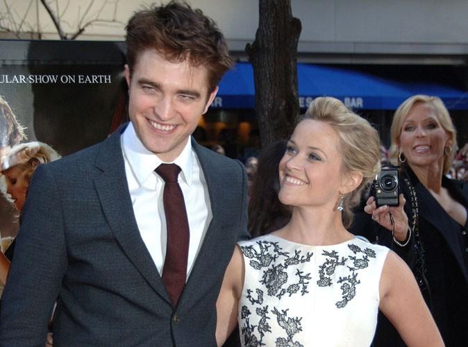Reese Witherspoon : le sexe avec Robert Pattinson, elle a adoré ça !