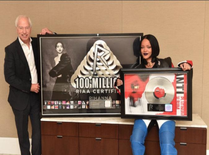 Rihanna :  ANTI, l'album qui bat tous les records !