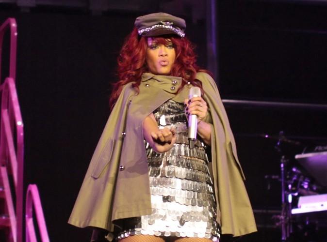 Rihanna : ça brûle sur scène !