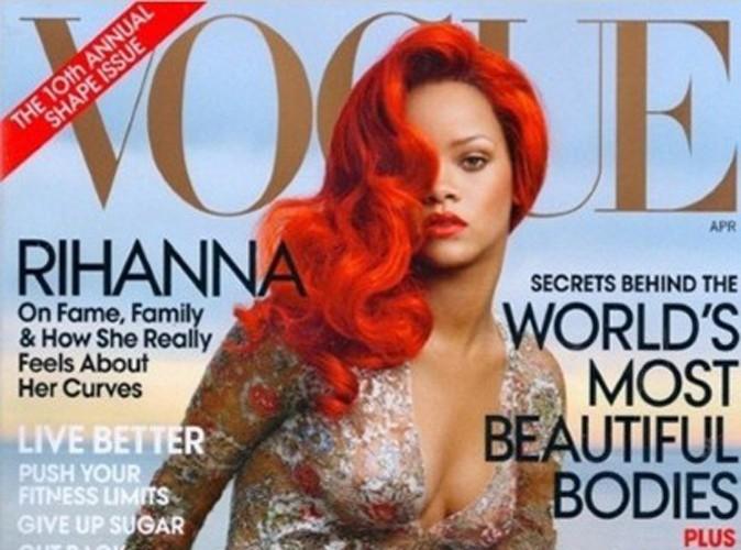 Rihanna : découvrez la première couverture du Vogue US d'une future actrice à succès !