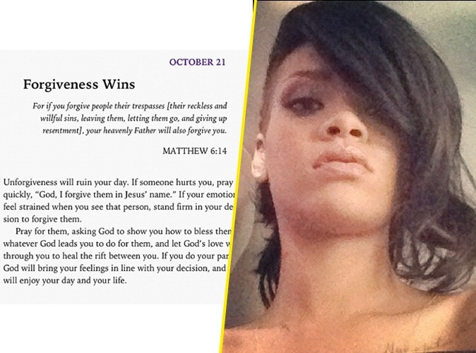 Rihanna : elle publie un message de pardon... pour Chris Brown ?