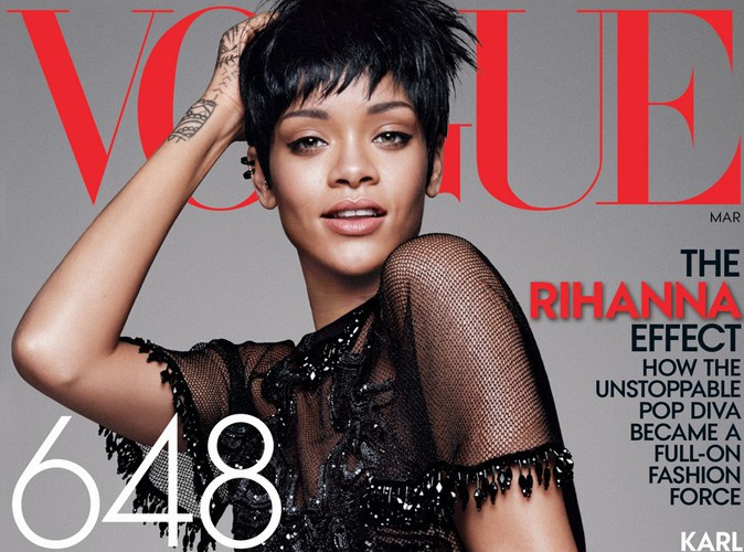 Rihanna : elle s'offre une troisième couverture de Vogue !