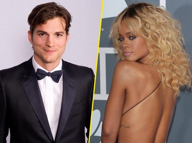 Rihanna : exit Chris Brown... Sa nouvelle proie n'est autre qu'Ashton Kutcher, avec qui elle vient de passer la nuit !