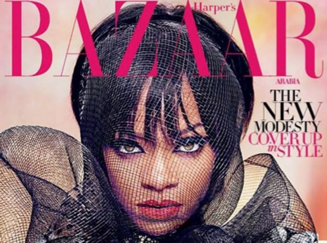 Rihanna : féline pour une nouvelle Une de Harper's Bazaar !