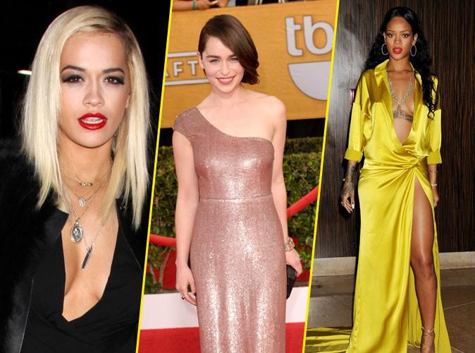"""Rihanna : jugée """"moins désirable"""" que Rita Ora et Emilia Clarke !"""