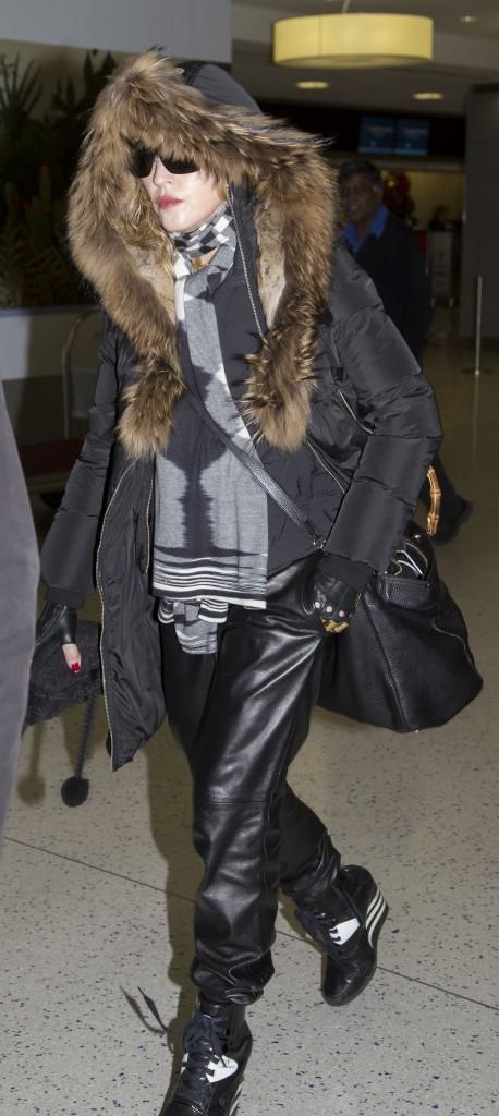 Les frileuses : Madonna à New York !