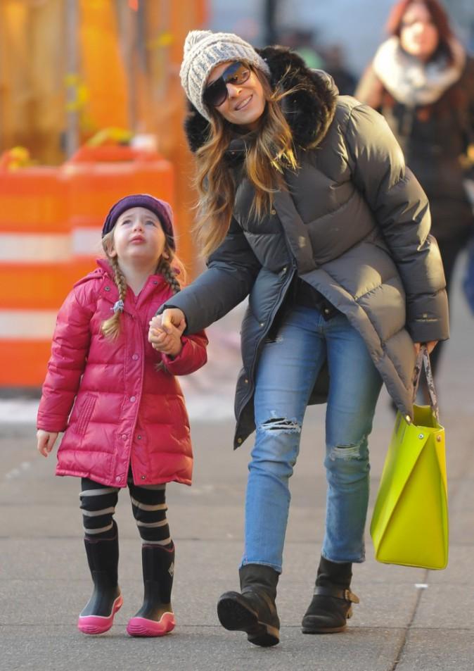 Les frileuses : Sarah Jessica Parker à New York !