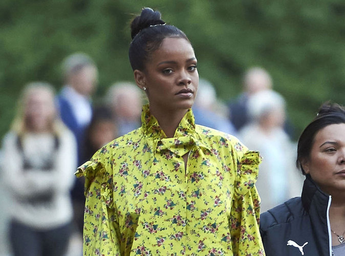 Rihanna : pr�sente � Nice, elle annule son concert et est �vacu�e d'urgence