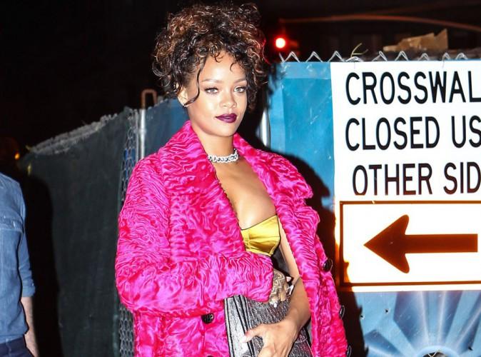 Rihanna : sur les nerfs apr�s que sa chanson ait �t� �vinc�e par CBS !