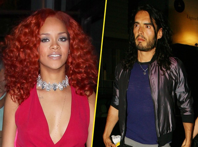 Rihanna tâcle le mari de Katy Perry, Russell Brand !