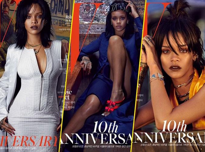 Rihanna : trois couv, trois styles pour les 10 ans de W Korea !