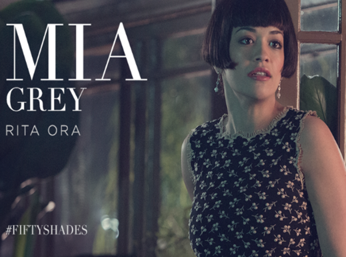 Rita Ora : grimée pour Fifty Shades of Grey !