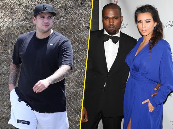 Rob Kardashian : déprimé par ses problèmes de surpoids, il veut manquer le mariage de sa soeur !