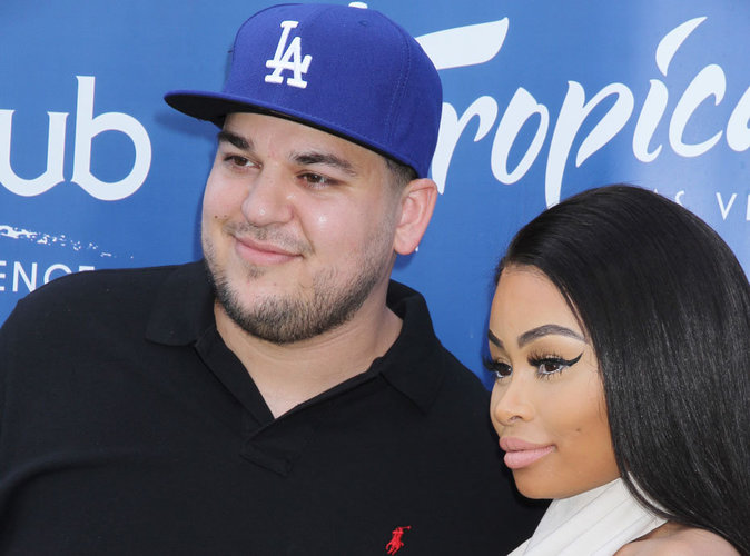 Rob Kardashian et Blac Chyna : le pr�nom de leur fille ne commencera pas par un K !