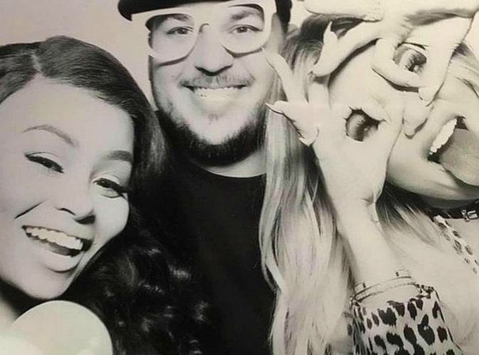 Rob Kardashian et Khloe Kardashian en froid à cause de Blac Chyna, Kim Kardashian dément !