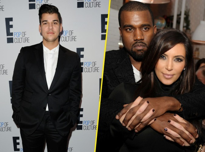 Rob Kardashian : super violent envers Kim et Kanye…