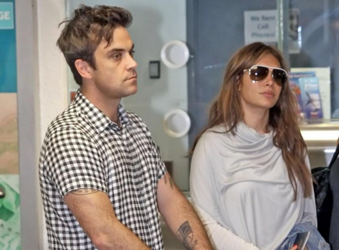 Robbie Williams et sa femme Ayda vont avoir une fille !