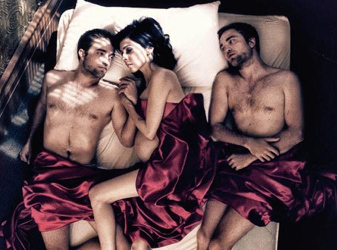 Robert Pattinson : double dose de son body sexy dans un lit !
