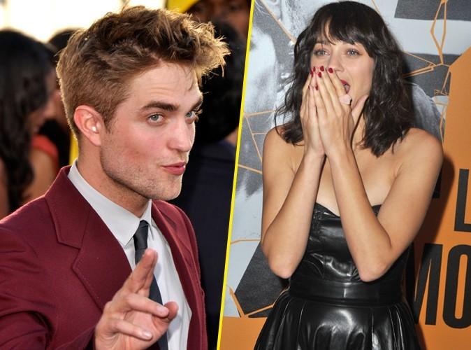 Robert Pattinson lâché par Marion Cotillard ?