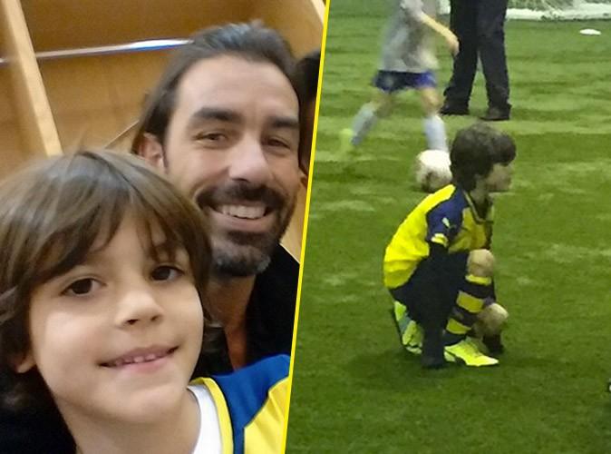 Robert Pirès : fier des premiers pas de son fils à Arsenal… Un pied de nez aux Beckham !